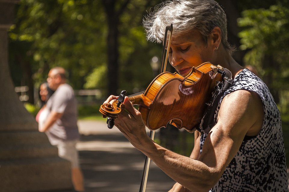 The violinist- The Best Photos of Women