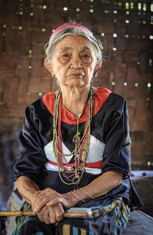 Old Lady - clothes maker tree bark- The Best Photos of Women