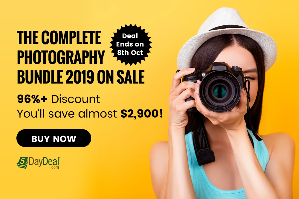 Sale: The Complete Photography Bundle 2019 for $89