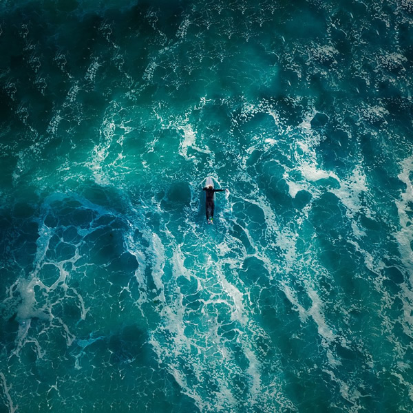 Surfing the blue