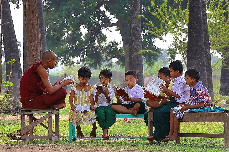 Lecture time - Myanmar