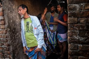 God Live in the Palaces Not in the Slum by Riben Dhar