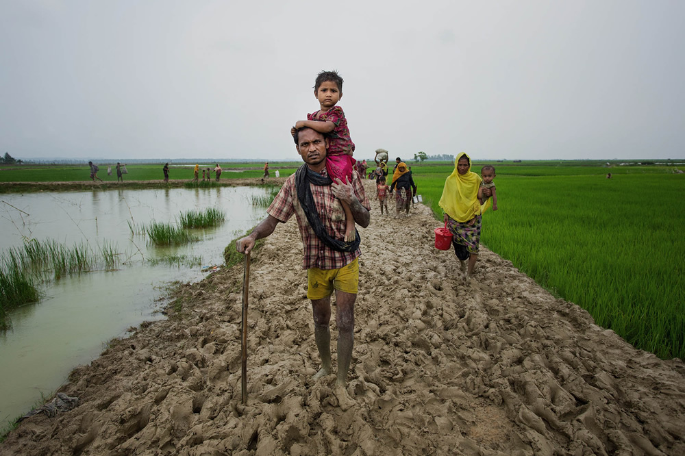 Rohingya Refugees: Photo Series by Jakir Hossain Rana