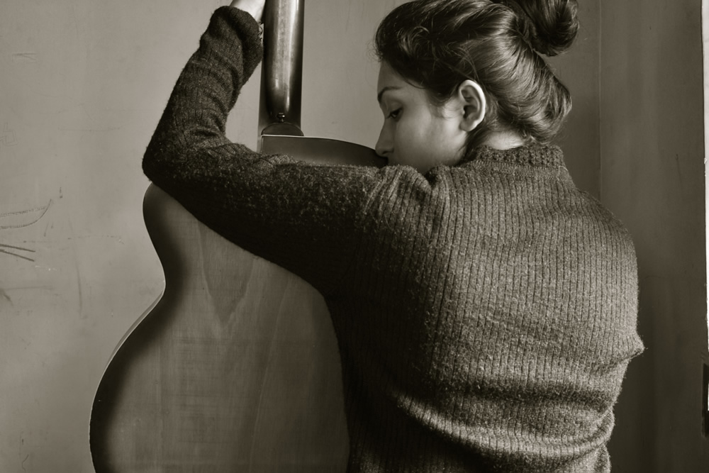 Mental Illness In Quarantine Days: Self Portrait Series By Riya Das