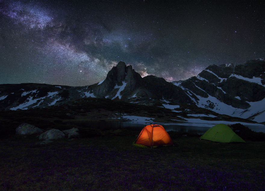 One Million Star Hotel In Rila Mountains And The Milky Way