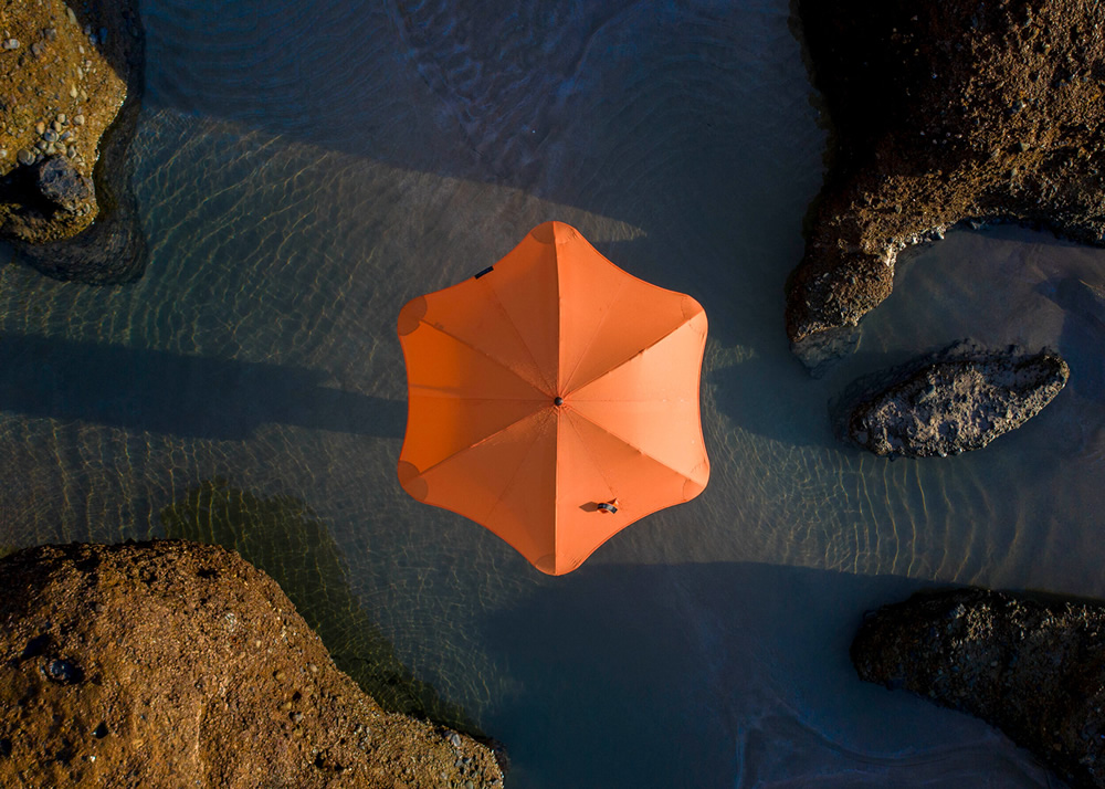 Blunt Umbrellas: Beautiful Drone Series By Petra Leary
