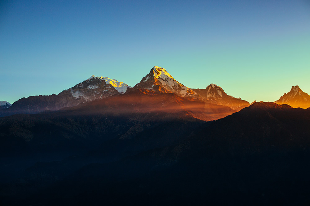 Mountains in Nepal: Beautiful Himalayan Landscapes By Erika Parfenova
