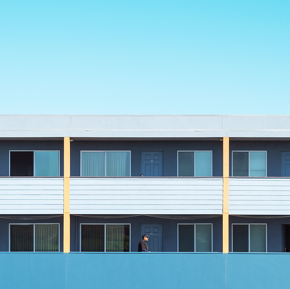 San Francisco: Colorful Minimalist Photography By David Behar