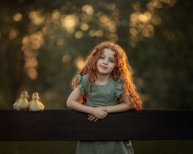 >My Daughter's Beautiful Summer Holidays With Two Ducks By Maria Presser