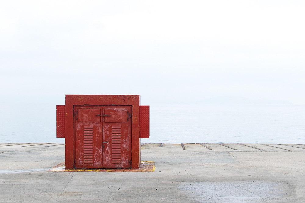 The Dock Boxes: Photo Series By Antonis Giakoumakis