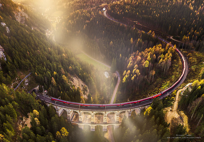 Hungarian Photographer Tamás Rizsavi Captured Beautiful Train Photographs In Exciting Places