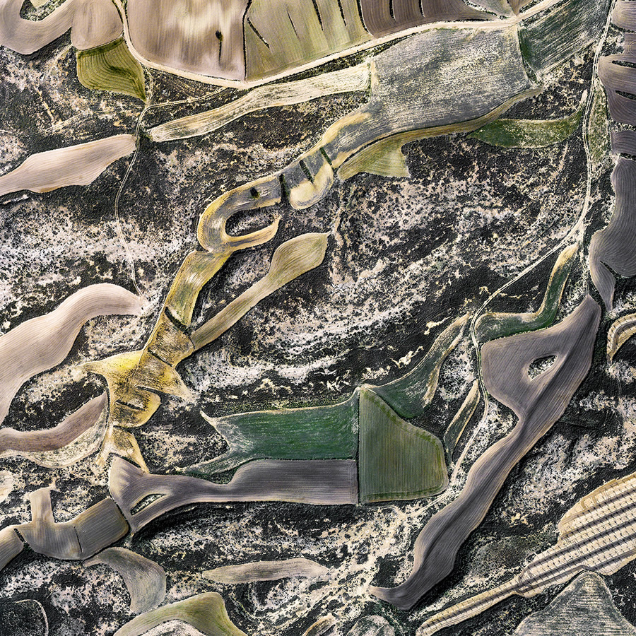 Sur/Real Lands: Beautiful Abstract Aerial Photographs By Milan Radisics
