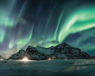Best ways to capture Northern Lights and snowy peaks