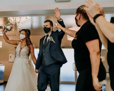 The Best 25 Wedding Photos Taken During The Pandemic