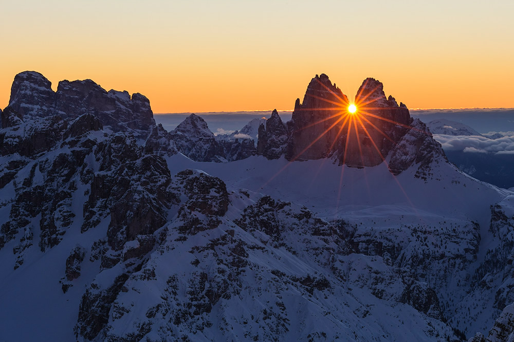 Dolomites In Winter: Amazing Landscape Photography By Martin Peintner