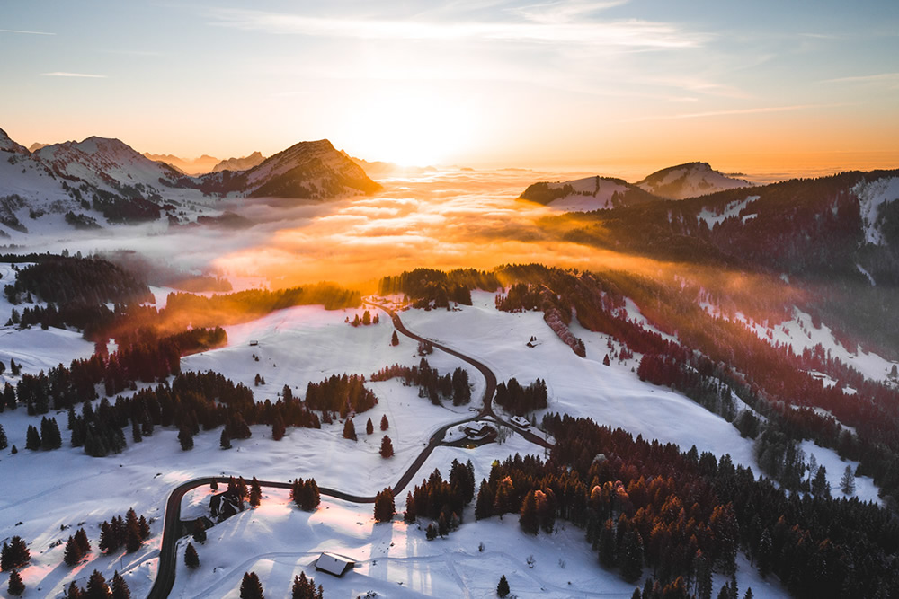 Colors of the Alps: Beautiful Landscape Photography By Kevin Krautgartner