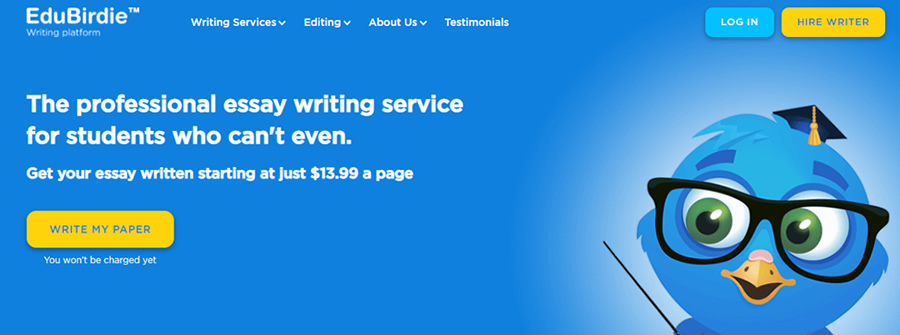 Our Latest Edubirdie Review by Assignment Writing Professionals