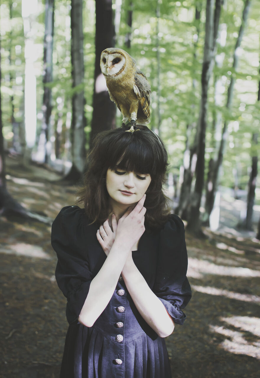 Photographer Anna Fantazj Loves Fairy Tales And Magic And These Photos Were Inspired By Them