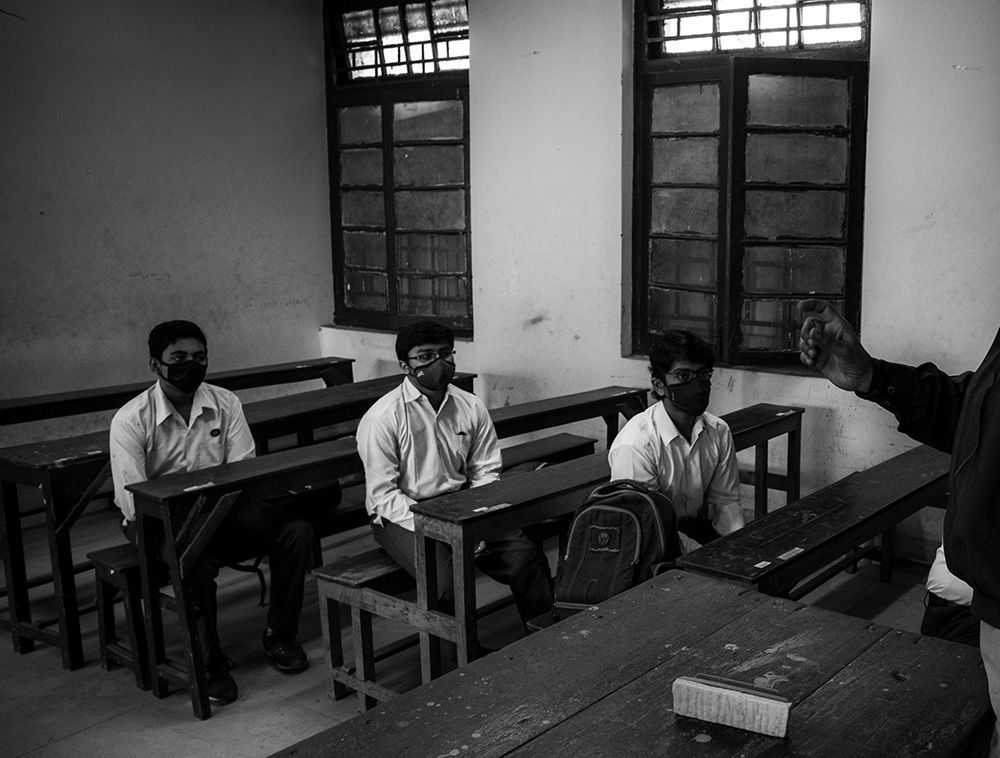 Reopening Of School After Lockdown – A Journey From Fear To Joy By Amlan Chakraborty