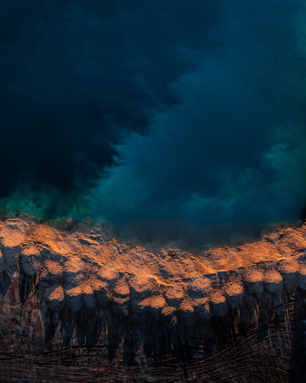 Visit Hungary: Artificial Lakes Of Delegyhaza From Above By Gabor Nagy