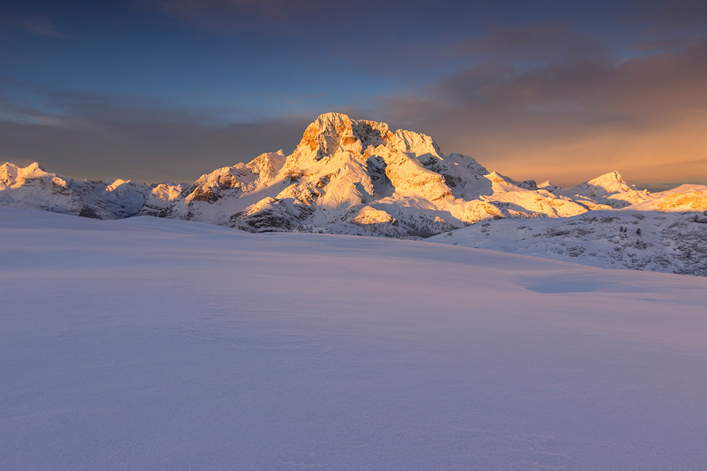 Dolomites In Winter: Beautiful Landscape Photography By Martin Peintner