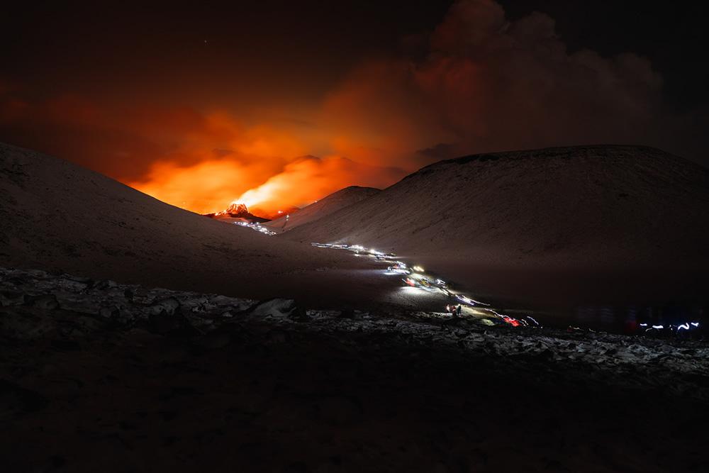 Iceland Volcanic Eruption: Photo Series By Siggeir Hafsteinsson