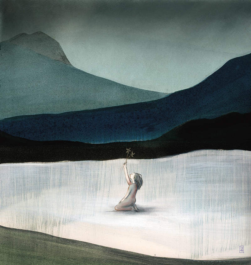 Inner Landscape: Geography Of The Soul By Isabella Conti