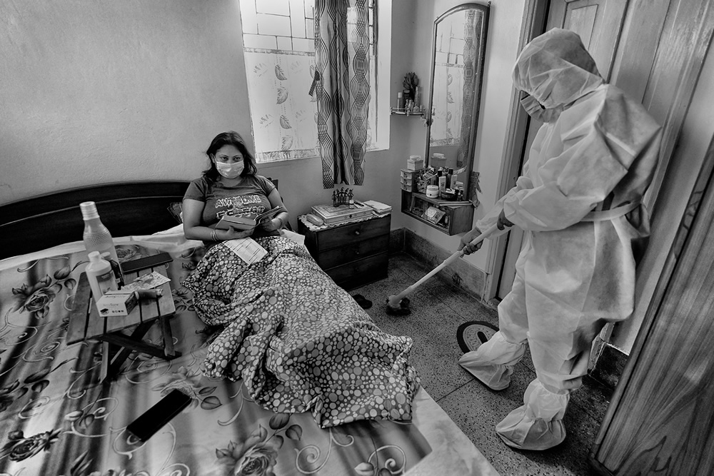 Life In Isolation: A Short Journey Of A Covid Patient By Shaibal Nandi