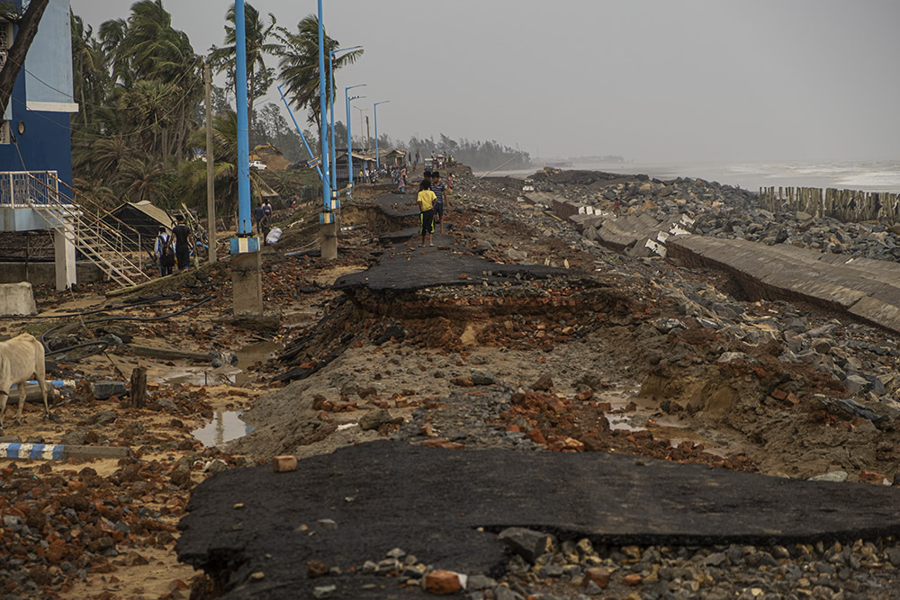 The Day After The Disaster Caused By Cyclone Yaas: Series By Pulak Jana