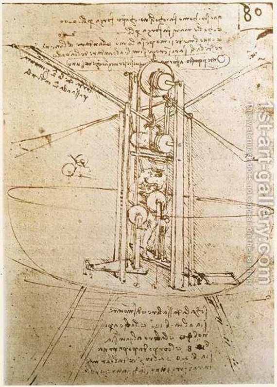 Da Vinci Inventions - Winged Flying Machine The Airplane