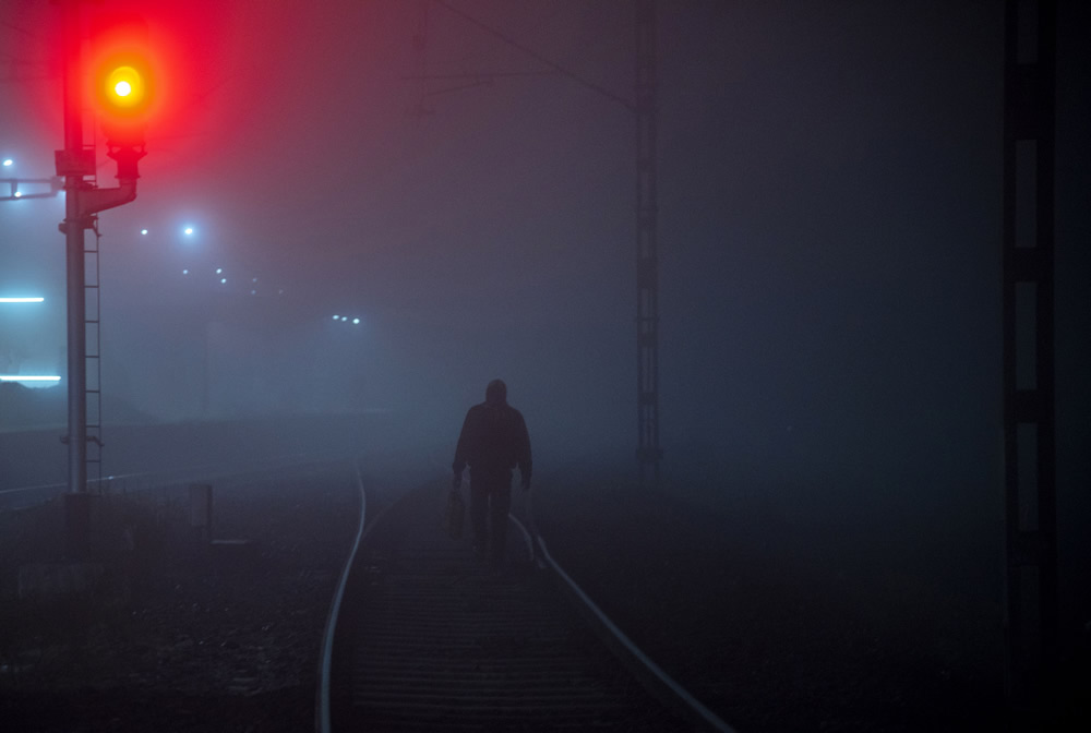 The Last Train: Photo Series By Tuhin Biswas