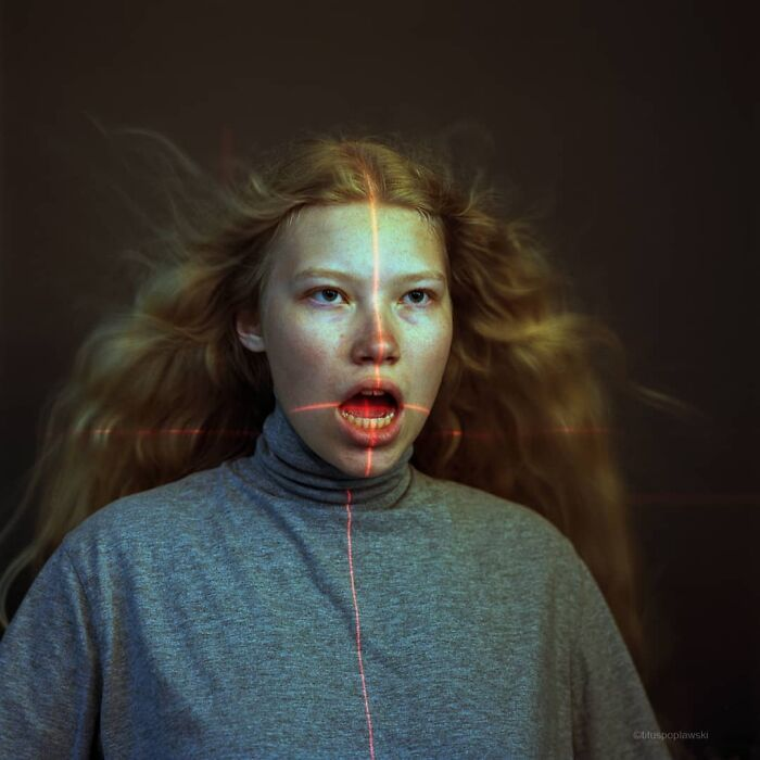 Eerie And Surreal Photos Of People Captured With Analog Camera By Titus Poplawski