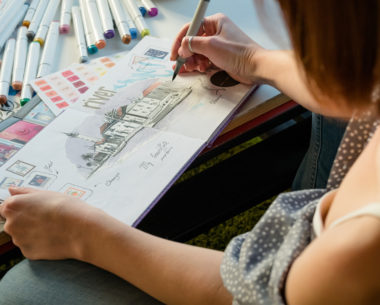 How To Stimulate Your Creative Juices WithA Sketchbook