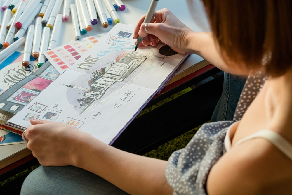 How To Stimulate Your Creative Juices With A Sketchbook