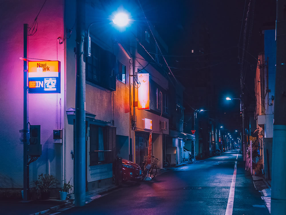 Dream World: Japan Night Dreamscapes By Anthony Presley