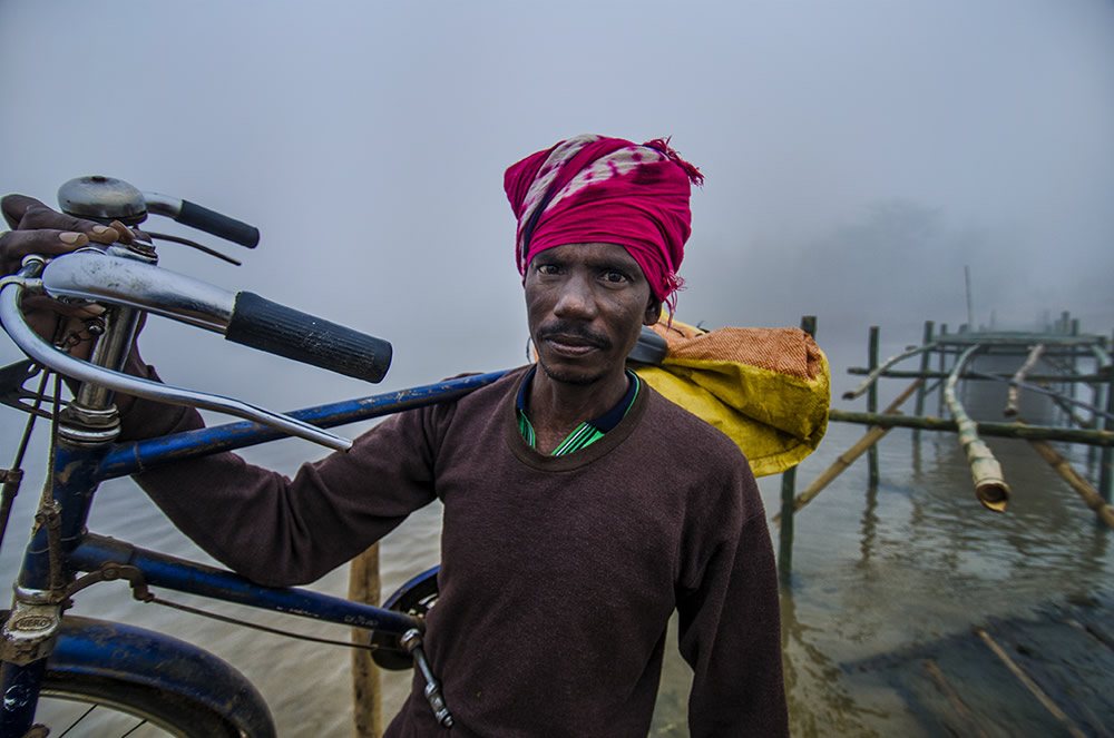 A Tale Of A Bamboo Bridge: Photo Series By Dipak Ray