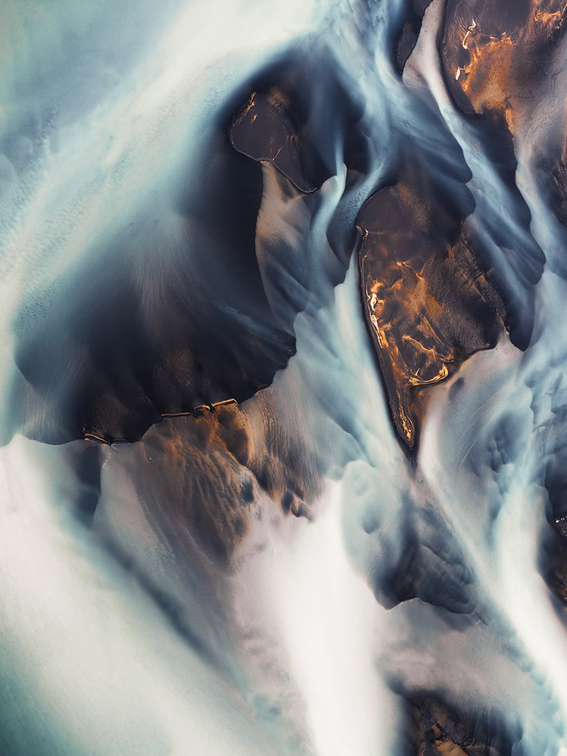 Braided Rivers: Beautiful Landscapes Of Iceland By Kevin Krautgartner