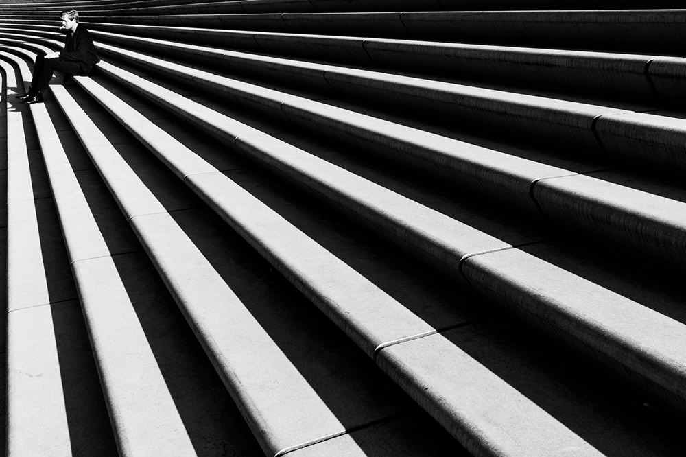 Stripes And Lines: Street Photography Series By Alexander Schoenberg