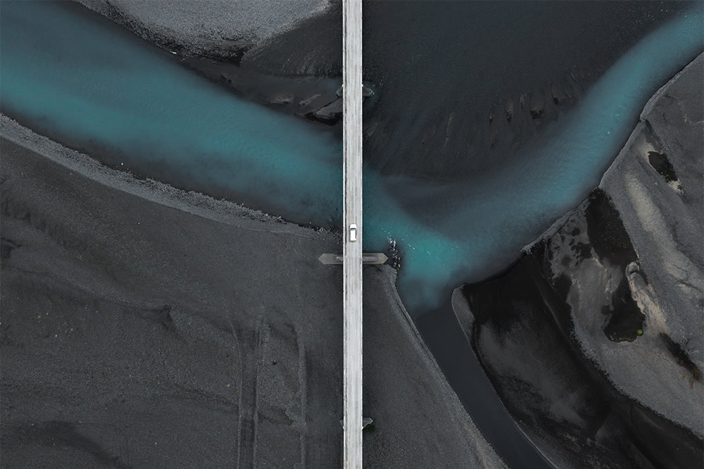 The Long Journey: Road Travel Shots Drone Photography By Kevin Krautgartner