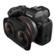 Canon Launches New RF5.2mm F2.8 L Dual Fisheye Lens For VR Capture