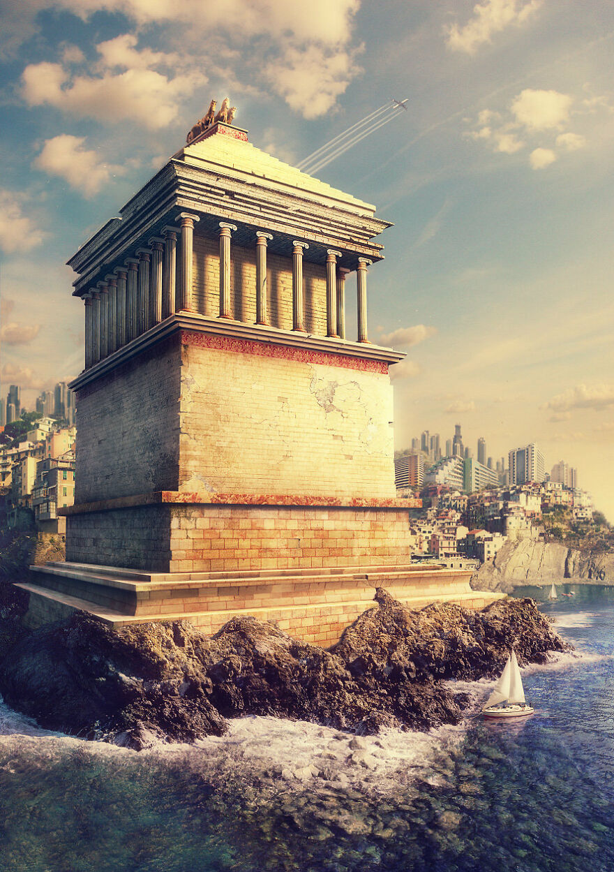 These 10 Famous Historical And Mythical Monuments by Evgeny Kazantsev