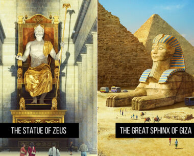 These 10 Famous Historical And Mythical Monuments Would Look Like In Present Day If They Survived