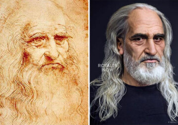20 Historical Figures As Modern-Day People By Artist Becca Saladin