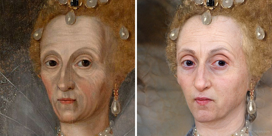 Well-Known Historical Figures, Paintings Recreated Using Artificial Intelligence
