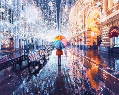 Moscow Fairytale-Like Beauty During Winter by Kristina Makeeva