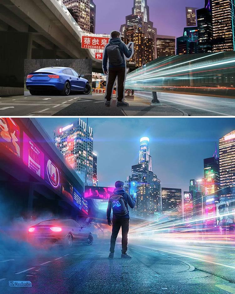 Russian Digital Artist Max Asabin's Photoshop Skills Are Pure Amazing